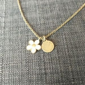 Marc Jacobs Flower Pendant Necklace
